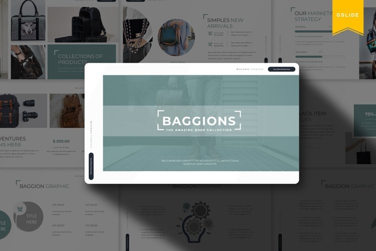 Baggions | Google Slides Template example image 1