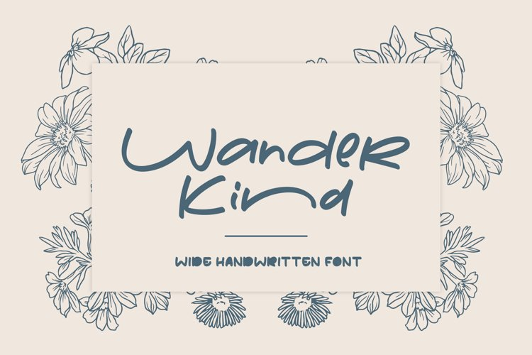 Wander Kind | Wide Fonts example image 1