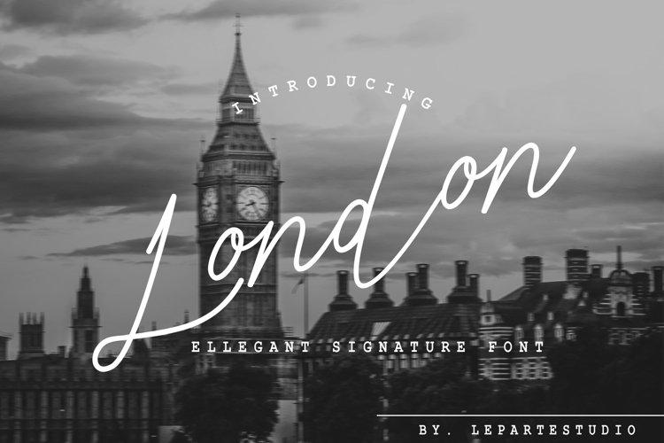 London Ellegant Signature example image 1