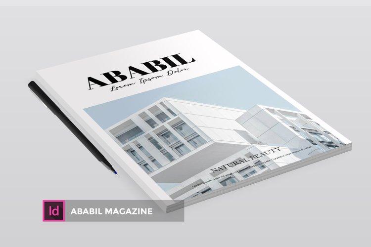 ABABIL | Magazine example image 1