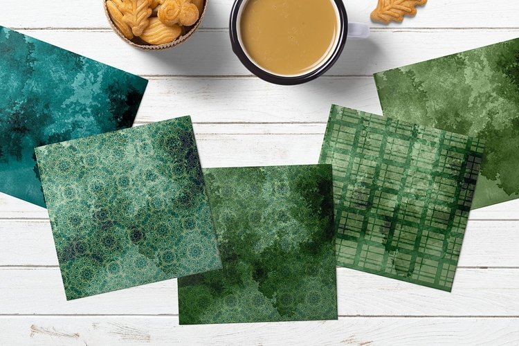 Distressed Digital Paper for Scrapbooking example 1