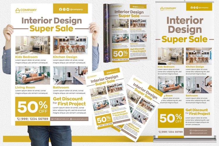 Interior Design #02 Print Templates Pack example image 1