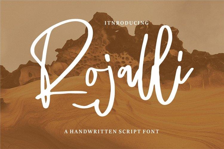 Rojalli - A Handwritten Script Font example image 1