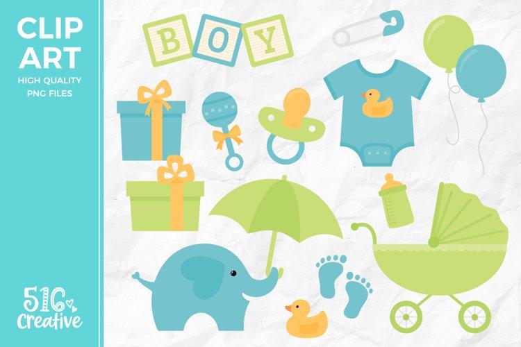 Boy Baby Shower Clipart Illustration Png 314702 Illustrations Design Bundles