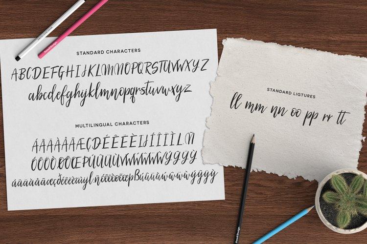 Silhouetto Script Font example 5