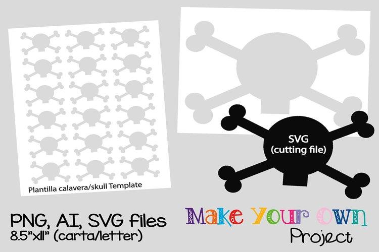 Skull SVG shape example image 1