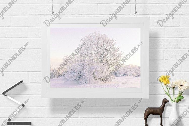 Snow Tree - Wall Art - Digital Print example image 1