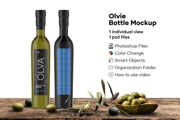Olvie Bottle Mockup example image 1