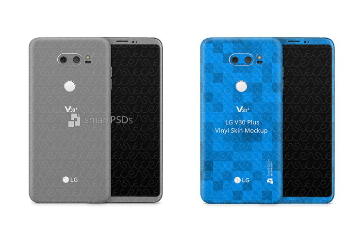 LG V30 Plus Vinyl Skin Design Mockup 2017 example image 1