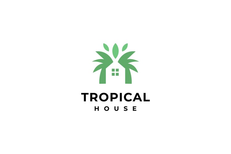tropical house logo example image 1