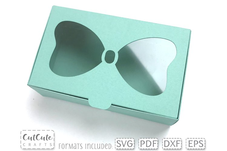 Bow Window Box SVG for 3 and 4 inch Hair Bows
