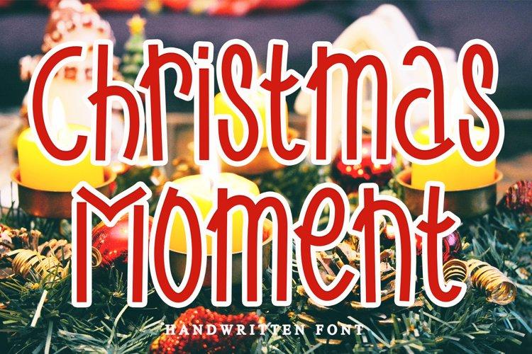 Christmas Moment example image 1