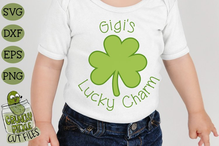 Gigis Lucky Charm - St Patricks Day SVG File