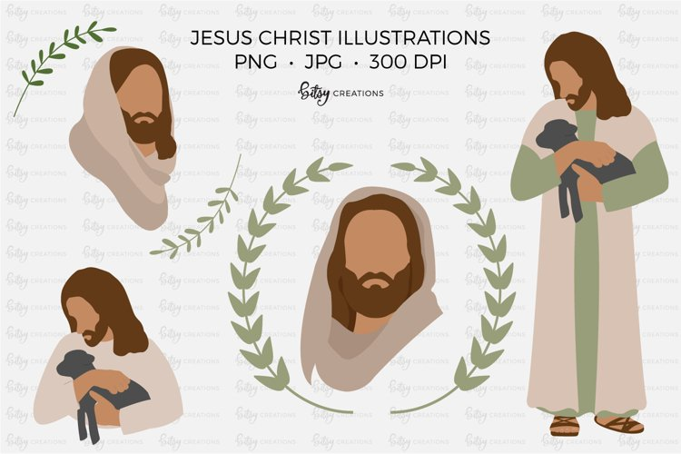 Jesus Christ Illustrations - Clipart in PNG and JPG