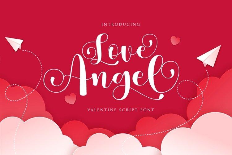 Love Angel | Valentine Script example image 1