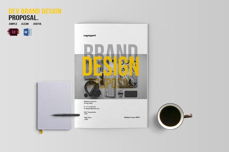 DEV Brand Design Proposal Template