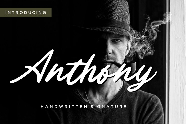 Anthony Handwritten Signature example image 1