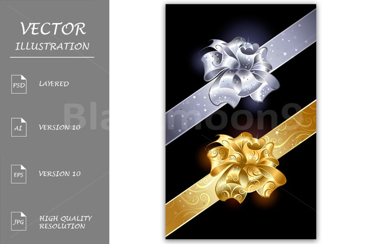 Gold and Silver Bows example image 1