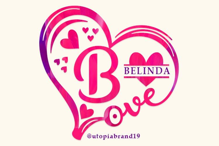 Belinda Monogram example image 1