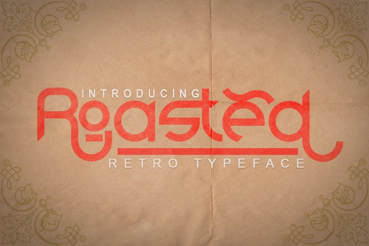 Roasted - Retro Typeface example image 1