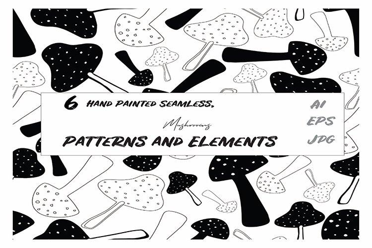 Mushrooms Patterns