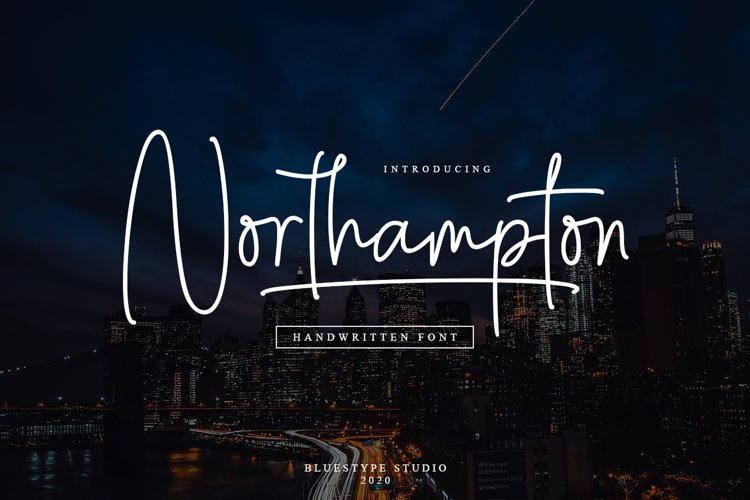 Northampton - Handwritten Signature