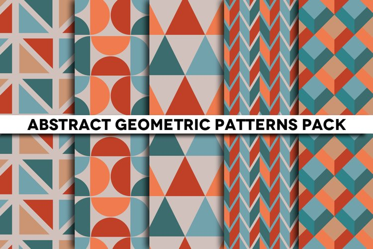 Abstract Geometric Patterns for Photoshop