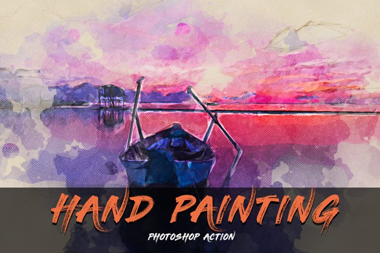 Hand Painting Photoshop Action example image 1