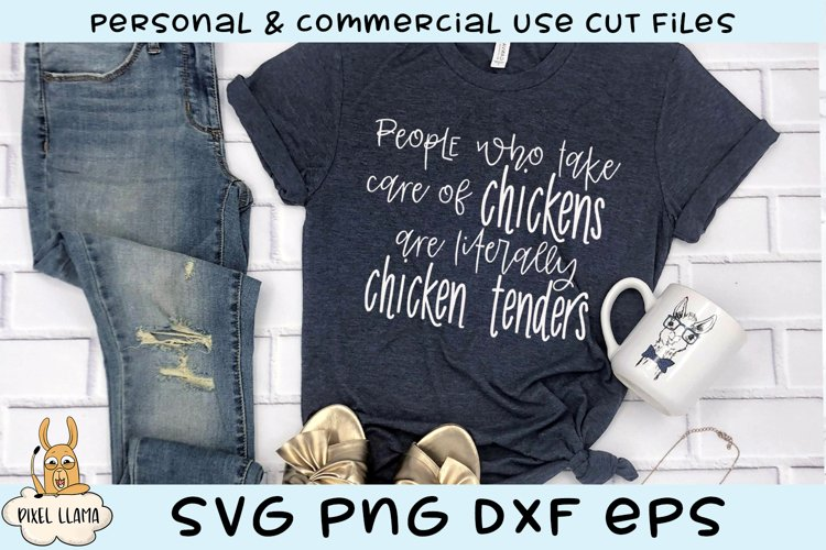 People Who Care For Chickens are Literally Chicken Tenders example image 1