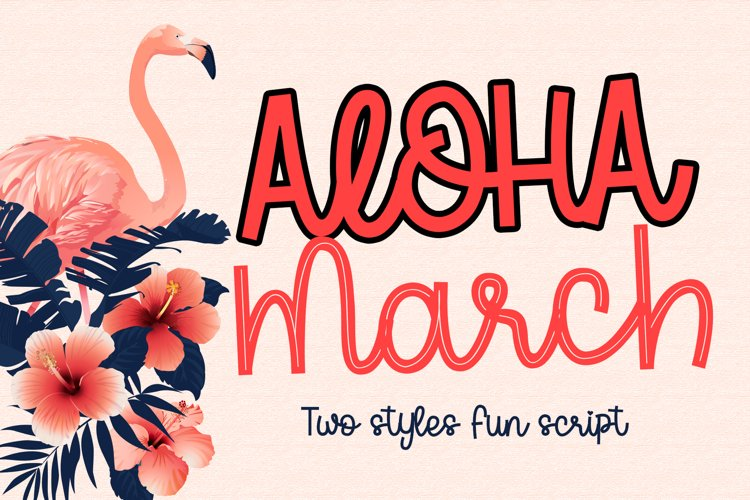 Aloha March example image 1