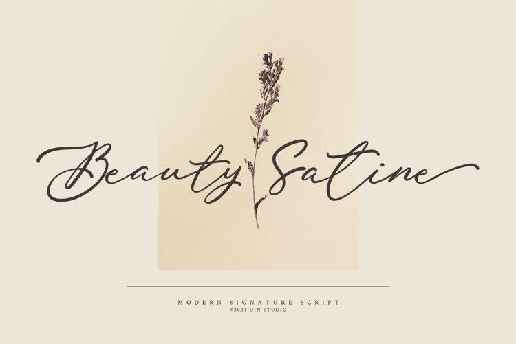 Beauty Satine example image 1