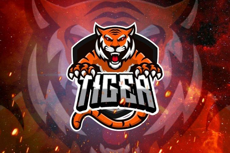 Tiger gaming logo example image 1