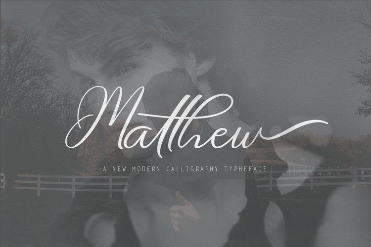 Matthew example image 1