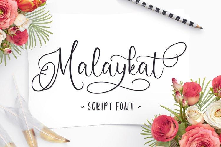 Malaykat Script Font example image 1