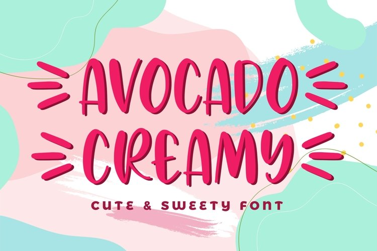Avocado Creamy example image 1