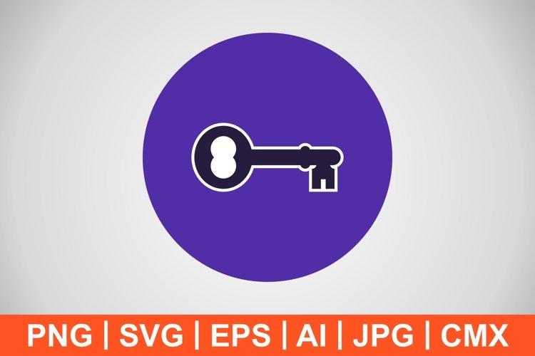 Vector Key Icon example image 1