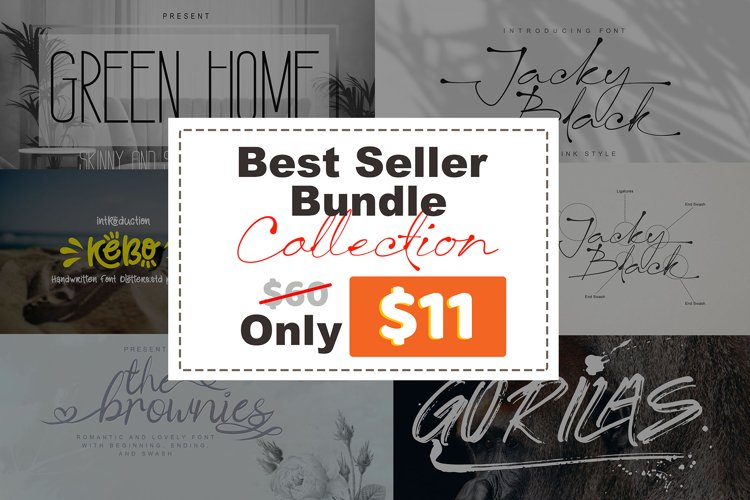 Best Sellers Bundles Collection Vol. 1 Only $11 example image 1