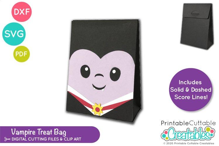 Halloween Treat Holder SVG |Vampire Treat Bag SVG