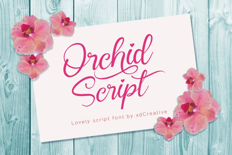 Orchid Script example image 1
