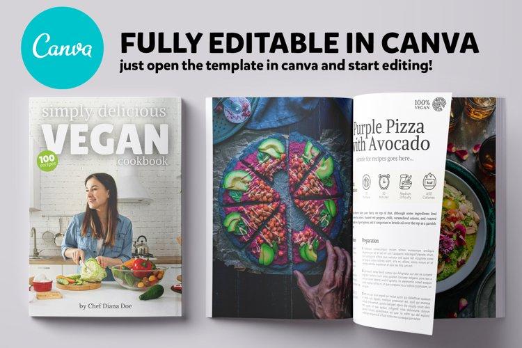 Canva Recipes CookBook Template