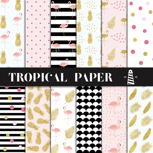 Tropical Backgrounds example image 1
