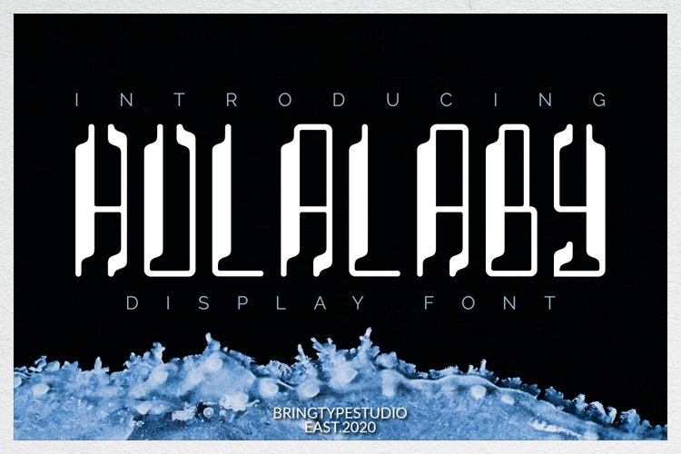Hulalaby -Duo Fonts! example image 1