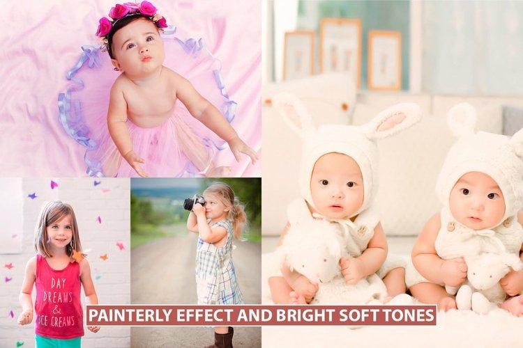 Painterly Photoshop action Bright Soft Tones Final Art