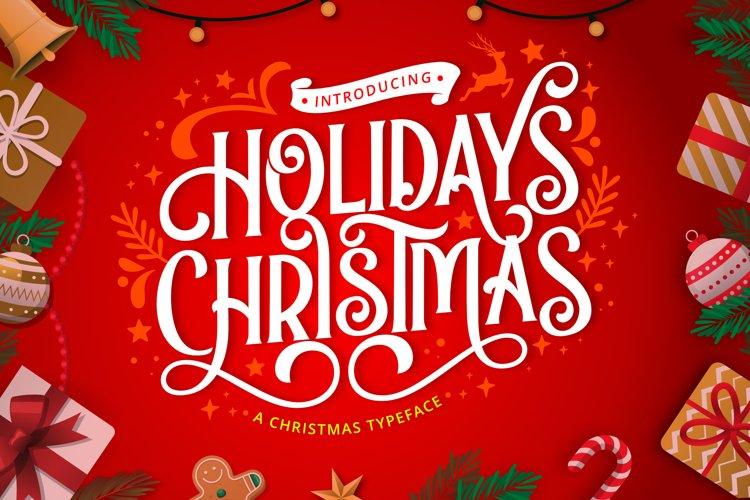 Holidays Christmas example image 1