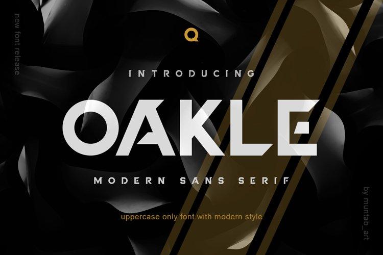 Oakle | Modern Sans example image 1