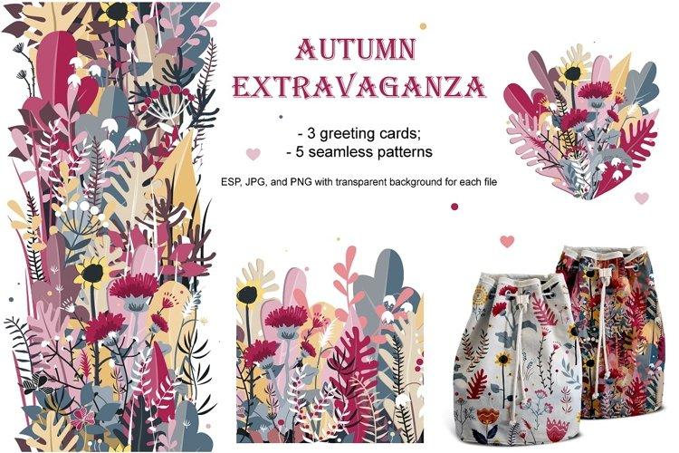 Autumn Extravaganza. Vector Bundle