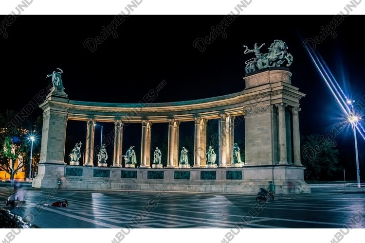 Heroes Square in Budapest example image 1
