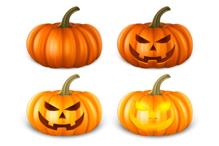 Vector pumpkin. example image 1