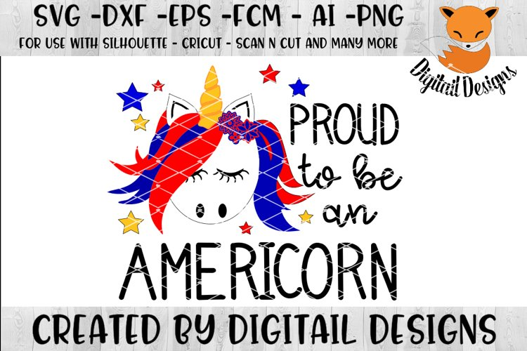 Patriotic Unicorn Svg Silhouette Cricut Scan N Cut 107852 Cut Files Design Bundles