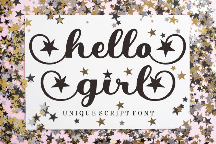 Hello Girl example image 1